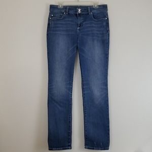 INC High Rise Straight Leg Blue Jeans - 12
